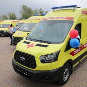 Работа по замене медицинского транспорта в Ростовской области продолжается.