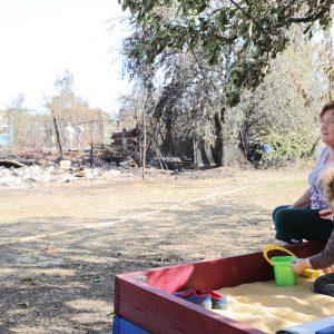 Все пострадавшие от ландшафтных пожаров получат материальную помощь