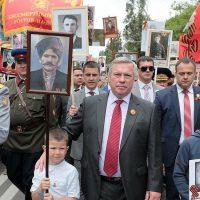 В строй «Бессмертного полка» встали 60 тыс. жителей Ростовской области